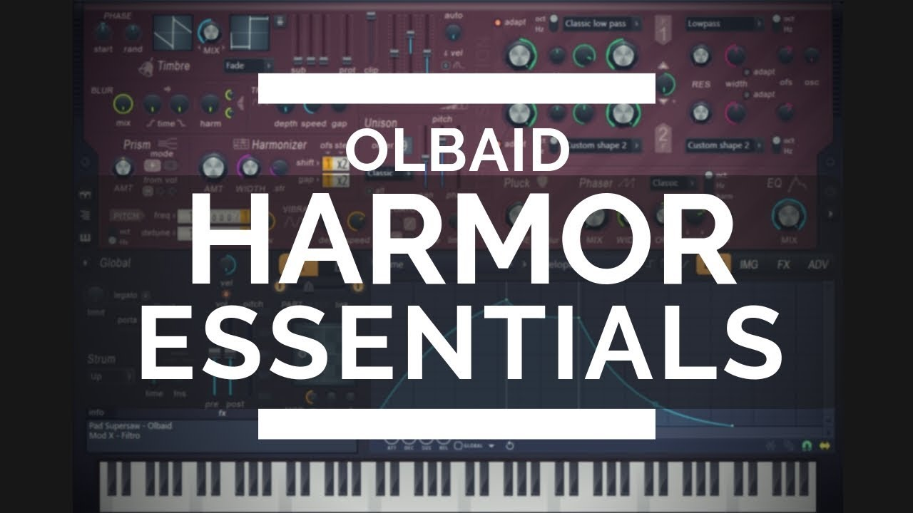 Grab 100+ FREE Harmor synthesizer presets by Olbaid