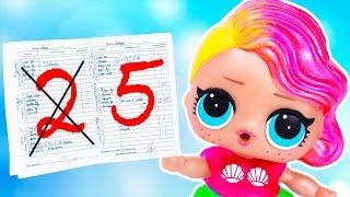 ЗАМАЗАЛА СТРАНИЦУ ИЗ ЧУЖОГО ДНЕВНИКА Мультик #ЛОЛ Школа Куклы Игрушки для девочек