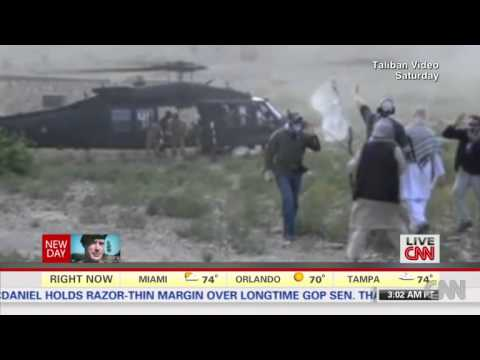 Taliban video shows Bowe Bergdahl's release in Afghanistan