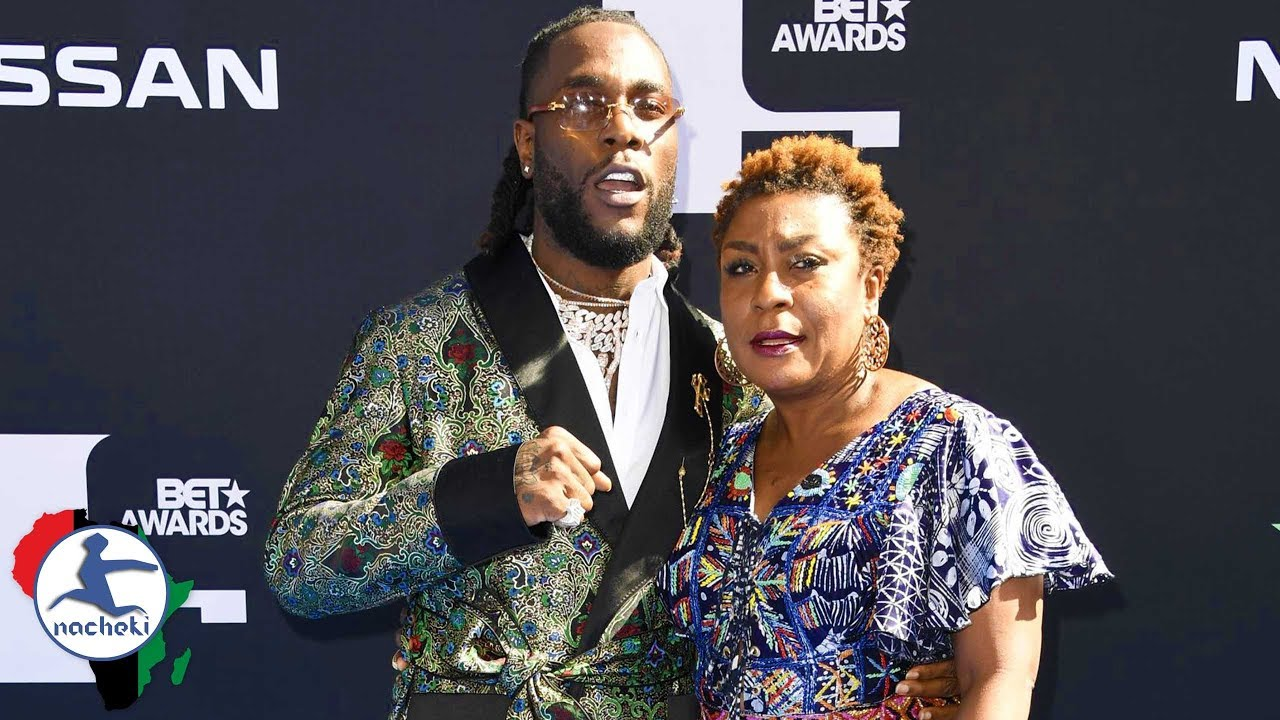 Burna Boy's Mother's Epic Message to All Africans During BET Awards