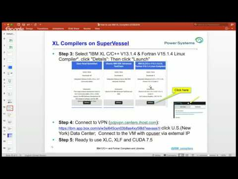 OpenPOWER Developer Challenge: Using IBM XL Compilers