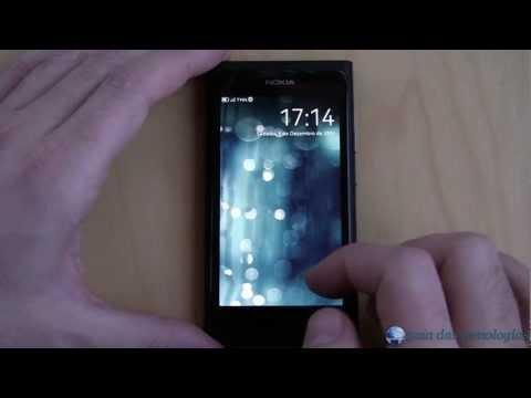 Nokia N9: Interface (MeeGo 1.2 Harmattan)