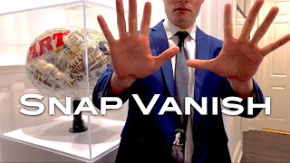 Snap Vanish - a coin magic trick from Shir Soul Magic
