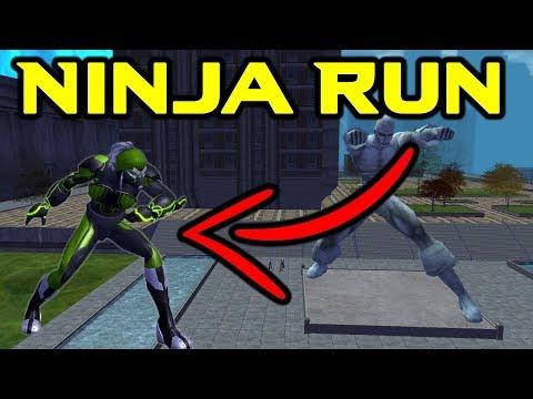 How To Get Ninja Run In City Of Heroes | FREE Prestige Powers!
