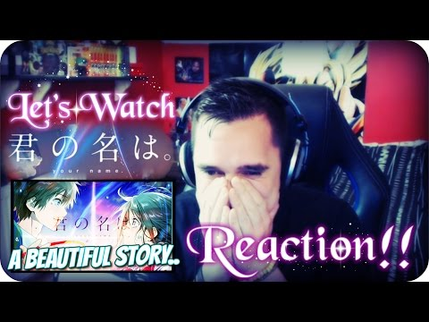 LET'S WATCH 'Kimi No Na Wa' (Your Name) *MOVIE* REACTION!! (25KSpecial)