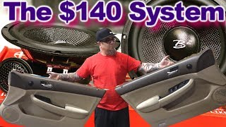 the $140 System - Mids & Tweets, Battery Upgrade, BIG 3, Wired up IT'S ALIVE! Video 8