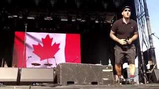 Goldfinger feat. Mike Herrera, Chris Cheney - Oh Canada + Spokesman (Live in Cayuga, ON, 06/28/14)