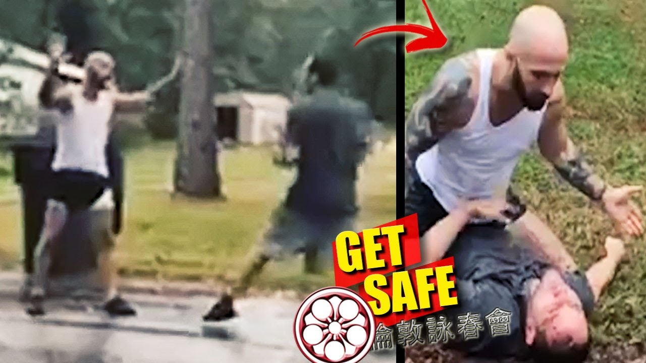 Guy Avoids Fight, But CONTROLS BAD GUY... Here's HOW HE DID IT