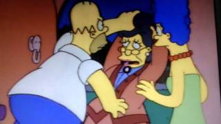 The Simpsons - Nannys hilarious