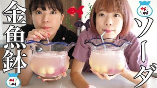 金魚鉢にソーダとアイスいれたら最高の夏だった! thumbnail
