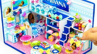 DIY Miniature Dollhouse Room ~ Moana Room Decor, Handbag