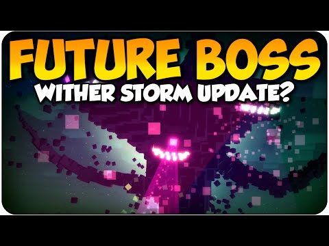 Minecraft Future Boss Update? Minecraft Story Mode Wither Storm DLC For PS4 & Xbox One