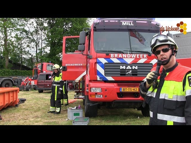 Veiligheidsinfodag bij brandweer Cuijk 2017