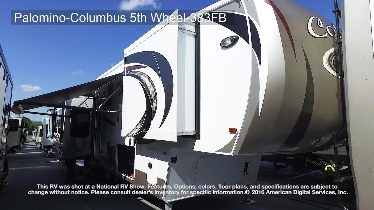 Palomino-Columbus 5th Wheel-383FB