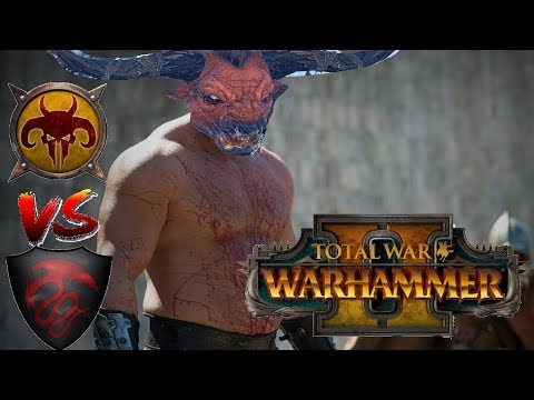 Beastmen vs Vampire Counts | CHAOS COW TRAIN - Total War Warhammer 2