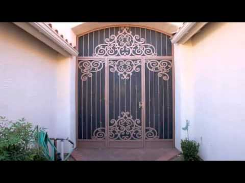 Wrought Iron Door Security Screen Doors Tucson Az Call