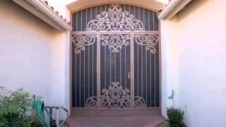 Wrought Iron Door | Security Screen Doors Tucson Az Call (520) 622-2870