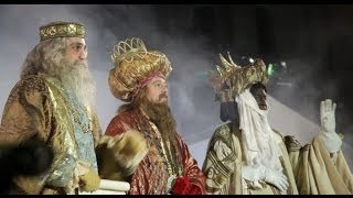 Madrid three kings parade - Cabalgata de los Reyes Magos Madrid Spain tourism - travel