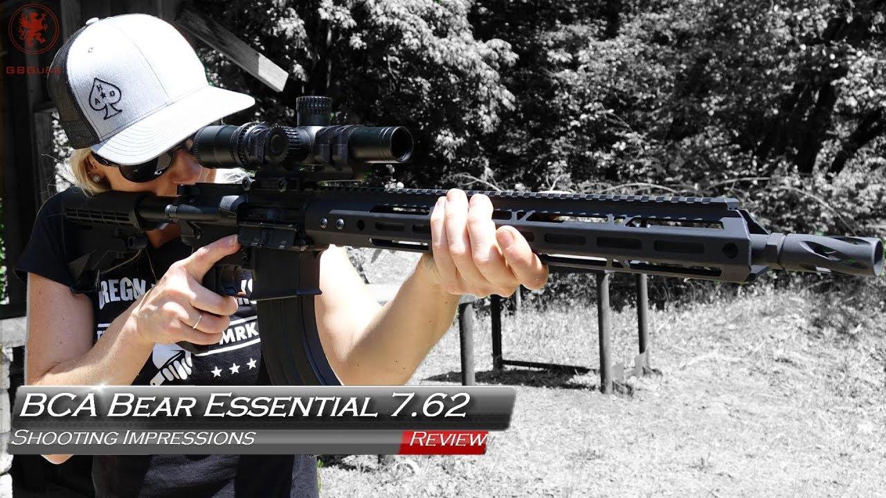 Bear Creek Arsenal Bear Essential Rifle in 7 62x39mm - Patriot Gun News