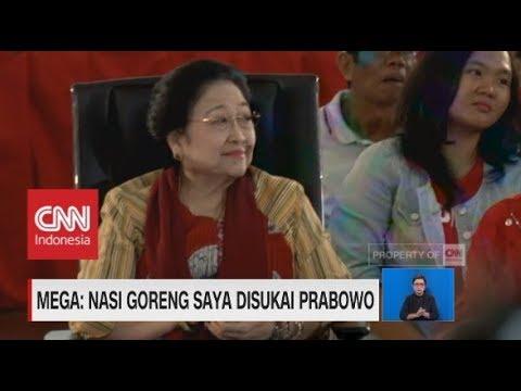 Mega: Nasi Goreng Saya Disukai Prabowo Mp3