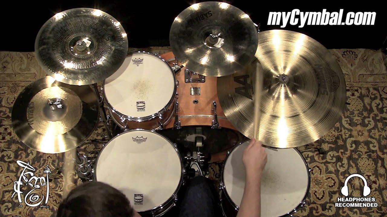 sabian 22 aa rock ride cymbal 22214 1042215jj youtube. Black Bedroom Furniture Sets. Home Design Ideas