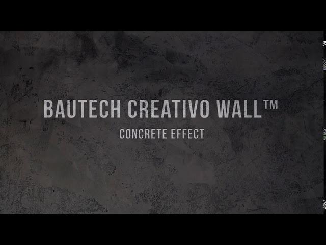 How to install CREATIVO WALL Microcement