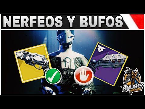 DESTINY 2 | *NERFEOS Y BUFOS en ARMAS,ARMADURAS Y SUPERS* | Armería Negra! thumbnail