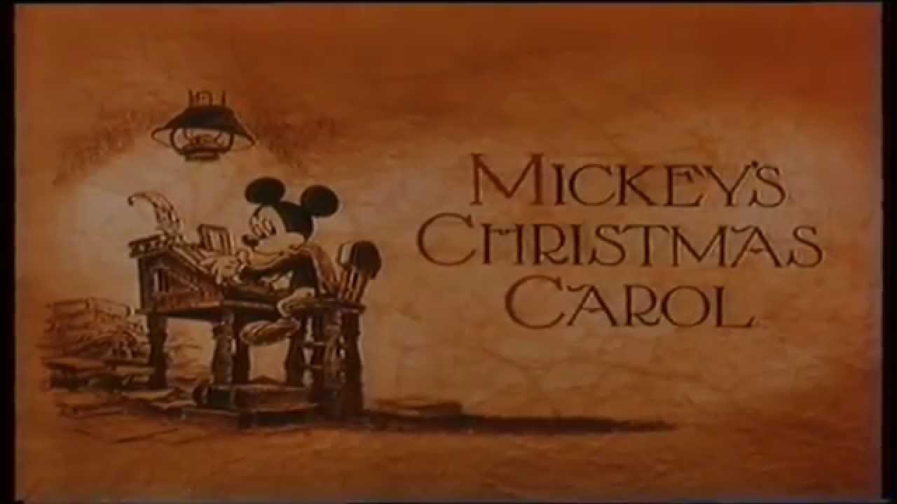 Mickey's Christmas Carol (1984) (236) - HD - YouTube