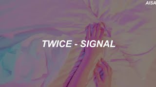 Download Video TWICE (트와이스) - 'Signal' Easy Lyrics MP3 3GP MP4