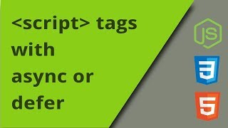 Script tags using async or defer