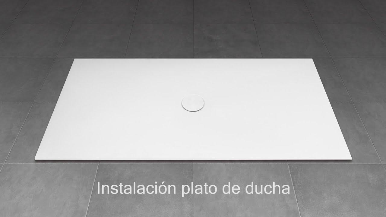 Plato De Ducha Acquabella.Instalacion Plato De Ducha Encoba21