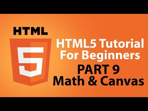 HTML5 Tutorial For Beginners - Part 9 - The Math Element And Canvas Element