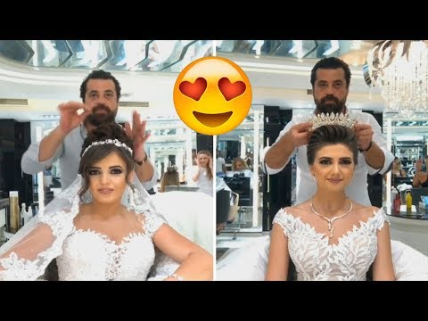 Best bridal hairstyles 2017 by mouniiiir