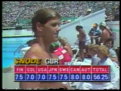 Olympics - 1984 Los Angeles - Diving - Mens Springboard Prelims imasportsphile
