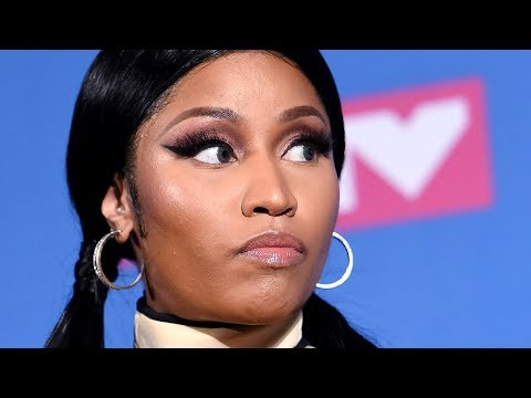 Nicki Minaj Slams Travis Scott After Shading Her At MTV VMAS 2018   Hollywoodlife