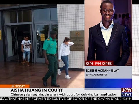 Aisha Huang In Court - Joy News Today (23-5-17)