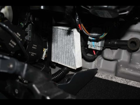 How To Change The Cabin Air Filter In A Renault Latitude
