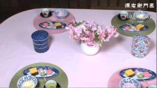 春のテーブルコーディネート|源右衛門窯 テーブルコーディネート 検索動画 30