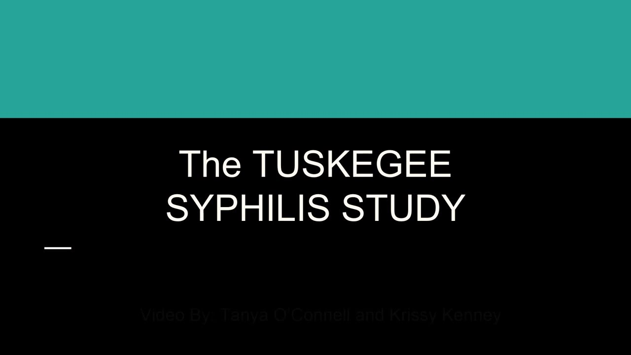 the tuskegee syphilis study