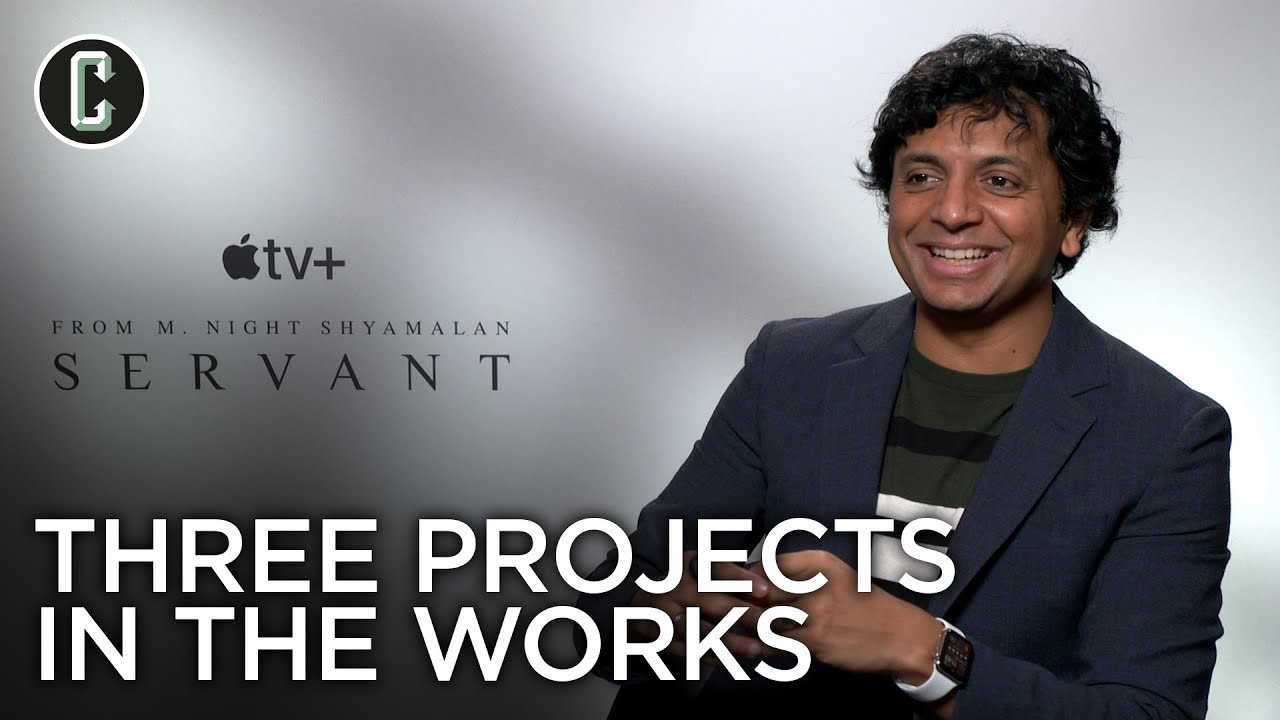 M. Night Shyamalan Says His Next Three Movies Are