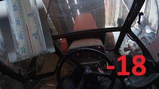 Odpalanie Zetora 5211 przy -18* [cold tractor engine starting up]