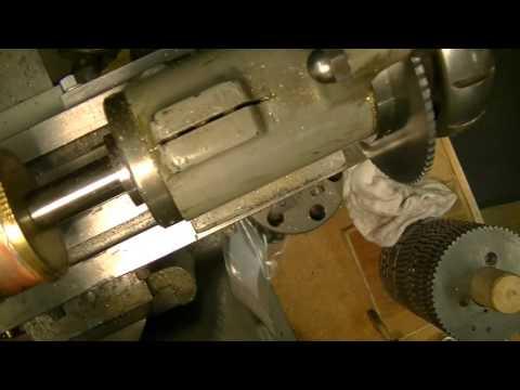 Clock repair tutorial. #4. Cutting a new wheel for a barrel. Part 2.
