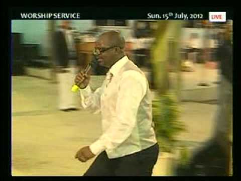 THE RESPONSE BY PST. MOSES ALU SUN. 15TH JULY, 2012