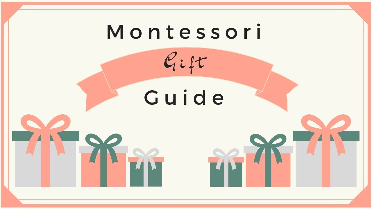 Montessori Gift Guide | Toddler Toys | Ad