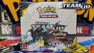 POKEMON TEAM UP BOOSTER BOX OPENING!!! TAG TEAM GX ARE HERE!