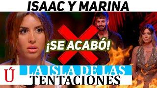 Triste final de Marina e Isaac tras la hoguera de Lobo con Jesús en La isla de las tentaciones 3