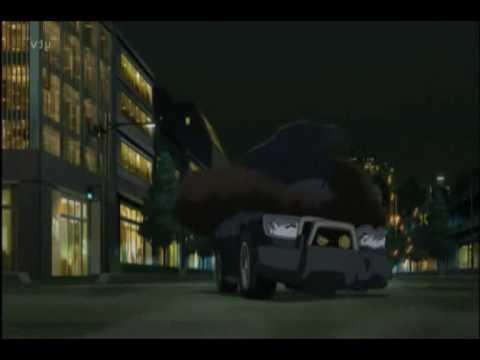 Detective Conan vs Lupin III scene