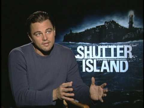 Leonardo DiCaprio and Sir Ben Kingsley Interview for SHUTTER ISLAND poster