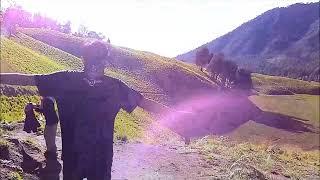 Tracking Mt Semeru