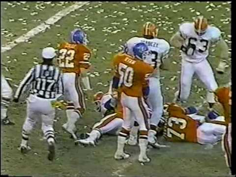 1987-AFC Championship Game-Broncos vs. Browns-